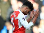 Alex Oxlade-Chamberlain accidentally 'liked' a fan rant after Arsenal's defeat at Chelsea