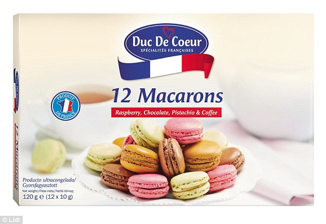 The French say that eating these is like a sweet kiss - unforgettable - so get these Lidl Macarons (£2.99 for 12, Lidl) in your shopping trolley and who knows, there might be a peck in it for you once you get home