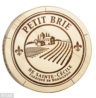 You'll certainly be saying 'cheese' with a huge grin when you stock up on the authentic goods on offer in the fromage aisle. From Normandy Brie (£2.49, 500g, Lidl) to spreadable Goats' Cheeses with herbs, honey and cranberries (99p, 100g, Lidl)