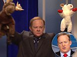 Sean Spicer said he thought Saturday Night Live had 'crossed over to mean' on Sunday