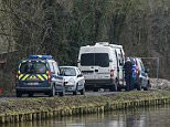 The boy's body was found overnight by a canal in northern France