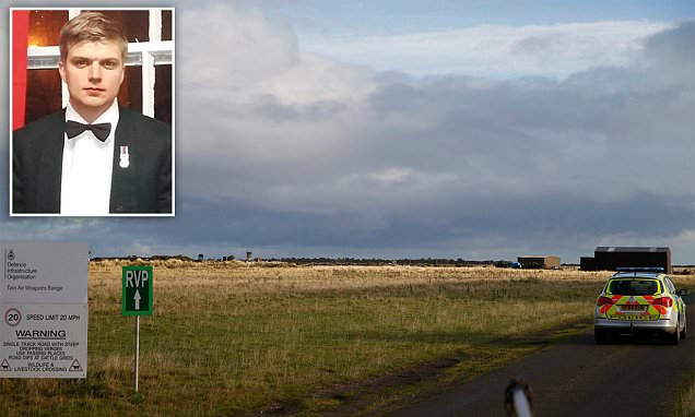 Joe Spencer was shot dead in firearms training exercise at RAF base