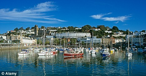 Torquay harbour: While the town is picturesque, the first humans were not early tourists, they would have simply followed their food to the spot
