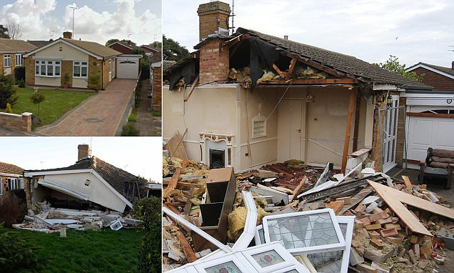 Walton-on-the-Naze pensioner pulled from rubble with his hair on fire after gas explosion