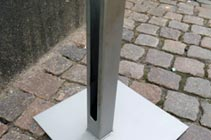Floor stand outside, second picture