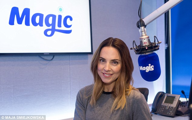 Woman of many talents: Mel will be covering presenter Kim Wilde on Magic for three months