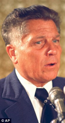 Jimmy Hoffa, Teamsters president, was another man named in Ms Lincoln's note