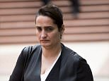 Dalya Saeed (pictured) allegedly stabbed her ex-husband after they argued about the custody of their daughter