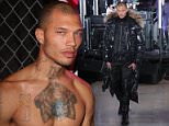 America's hottest felon Jeremy Meeks was spotted walking the runway for designer Philipp Plein at New York Fashion Week on Monday in front of Kylie Jenner, Paris Hilton and Madonna
