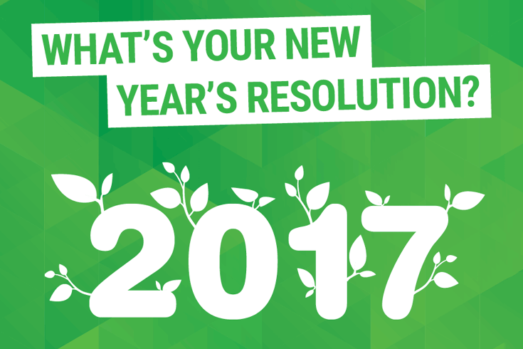 2017: What's your new year's resolution?