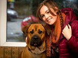 Sophie Robinson, 23, lives with her mum and her dog in Stockport. She shared the funny video with the comment 'Texas chicken massacre'