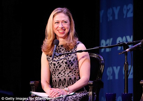 The Chelsea Clinton said she identified with Georgetown University student Sandra Fluke, who was branded a 'slut' and a 'prostitute' by the controversial talk show, during a debate last week