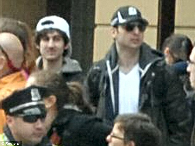 Other plans: New information suggests that Tamerlan, right, and Dzhokhar Tsarnaev, left, may have been planning to attack New York next