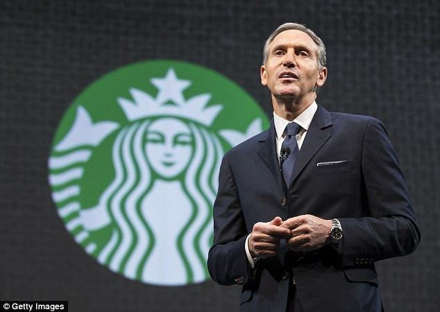 Starbucks CEO Howard Schultz warned Hillary Clinton's campaign when it was in its infancy that its 'branding' was all wrong and risked losing millennial voters form the start
