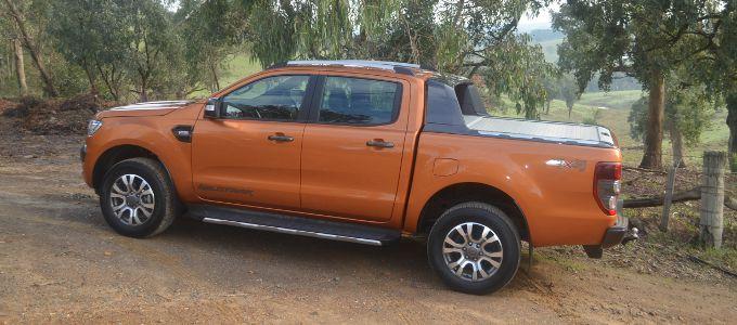 Ford Ranger PX MarkII Wildtrak Reviewed : Test Drive on Web Wombat Motoring