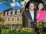 Jamie Oliver (above, with his wife Jools) is at the centre of a bitter row over a cleaning bill