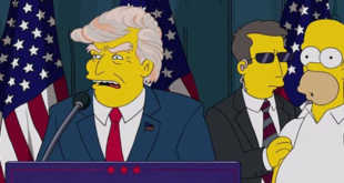 The Simpsons Movie is already foresee Donald Trump become US president