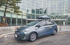 [Photo] Naver mimics Google with self-driving car
