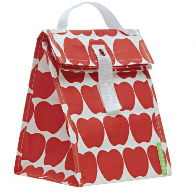 red apple tote