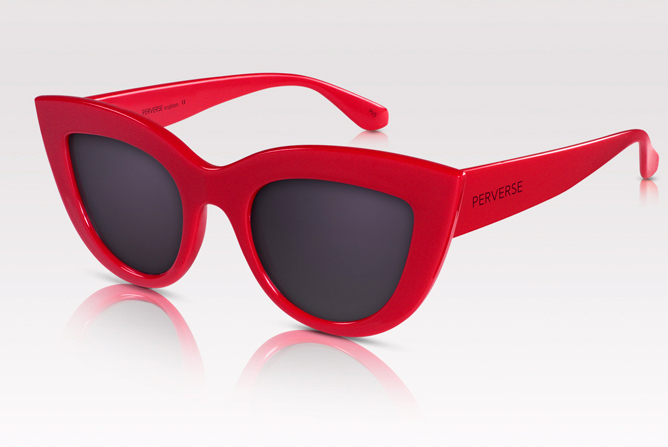Toni Ko Privy Interview PERVERSE Sunglasses Red
