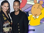 NEW YORK, NY - FEBRUARY 16:  Chrissy Teigen (L) and John Legend attend Sports Illustrated Swimsuit 2017 NYC launch event at Center415 Event Space on February 16, 2017 in New York City.  (Photo by Nicholas Hunt/Getty Images for Sports Illustrated)