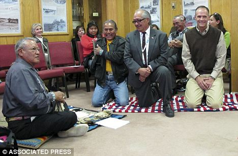 The Navajo Nation signed a historic agreement with Farmington city officials aimed at improving race relations