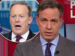 CNN anchor Jake Tappertook the opportunity to condemn the White House on CNN's The Lead