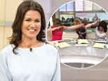 EDITORIAL USE ONLY. NO MERCHANDISING Mandatory Credit: Photo by S Meddle/ITV/REX/Shutterstock (8431213b) Susanna Reid 'Good Morning Britain' TV show, London, UK - 23 Feb 2017