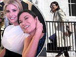 Company:Wendi Deng traveled down to Washington DC on Friday afternoon to visit her friend Ivanka Trump (Debg above on Friday)
