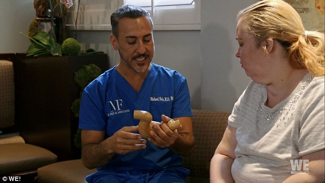 'Being overweight scares me': Mama June later met with Dr. Michael Feiz and initially completely misunderstood the gastric sleeve surgery, thinking it would be a simple way for her to 'still lose weight' without having to 'work out that much'