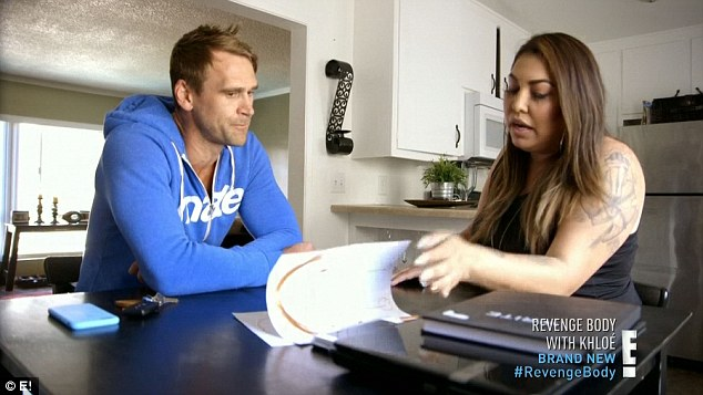 Having doubts: Luke listened as Gabriela shared her concerns about her injury