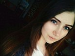 Veronika Volkova, 16, who fell to her death on Sunday from a 14-storey building