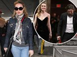Brie Larson (pictured) walks inside LAX on Monday, following her refusal to clap for Best Actor winner Casey Affleck during Sunday's Academy Awards