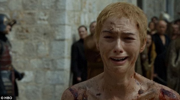 Enough to make anyone cry: Cersei Lannister and her role in driving the intrigue at court has been one of the show's most popular features