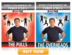 Olympic Lifts Movement for Power Sports
