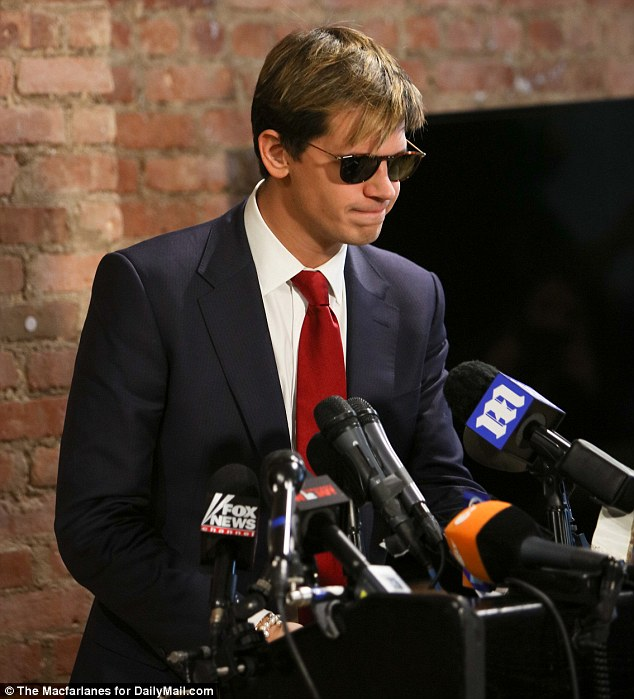 Milo Yiannopolous quit Breitbart on Monday afternoon amid mounting controversy over what he said about 'coming of age of relationships'