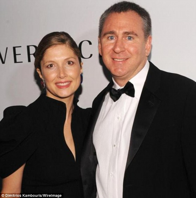 Back in 2015, Citadel billionaire Ken Griffin settled at the eleventh hour what was being billed as the hedge fund divorce trial of the century, with wife Anne Dias-Griffin (pictured together)