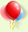 picture of helium balloons