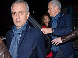 Jose Mourinho has been in London with his family, toasting EFL Cup glory with a meal