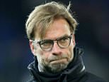 The Liverpool players cut dejected figures after suffering an embarrassing defeat vs Leicester