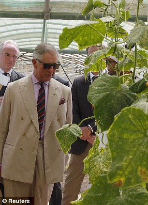 What's the truth? Britain's Prince Charles on a recent visit to Al Safwa Farm in Doha, Qatar claims he wants to defend local heritage