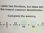 This challenging year 7 maths homework question left an entire family scratching their heads, but can you work it out?