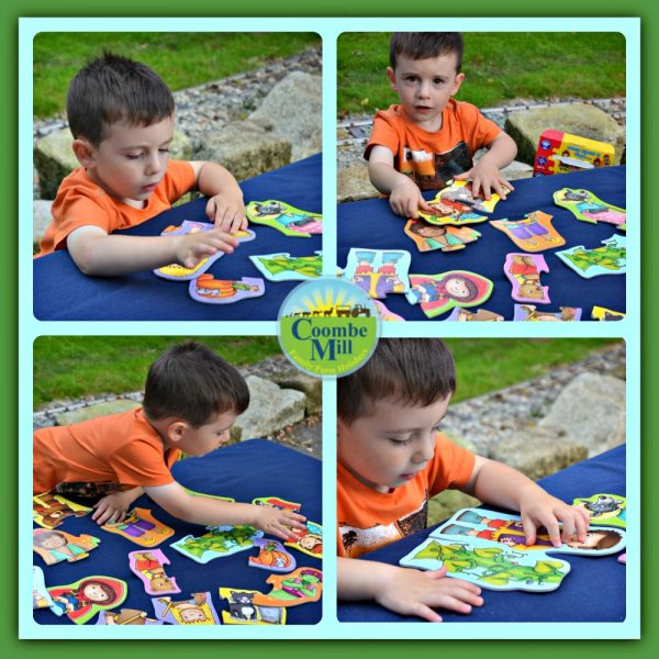 Enjoying making Orchard Toys First Jigsaw: Once Upon a Time