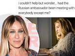 Sarah Jessica Parker on Thursday posted a meme on Instagram showing her Sex and the City character Carrie Bradshaw typing at a computer