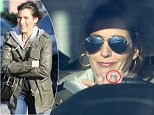 Beau Biden's widow Hallie was still wearing her wedding ring on Saturday afternoon when she stepped out in Glen Mills,Pennsylvania