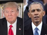President Trump fired off two more taunting tweets against his predecessor Barack Obama on Sunday morning