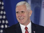 """FILE - In this Jan. 26, 2017 file photo, Vice President Mike Pence speaks at the Republican congressional retreat in Philadelphia. President Donald Trump has declared that the media is the """"enemy of the people"""" but his administration was was willing to joke around with reporters - and poke fun at itself - in a venerable Washington tradition on Saturday, March 4, 2017. Pence was the featured speaker at the 132nd annual Gridiron Dinner, a comical white tie dinner featuring skits, songs and speeches. (AP Photo/Matt Rourke, File)"""