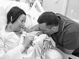 A brave mother has shared heartbreaking photos taken with her stillborn son after she awoke from a coma to be told he had been dead for three weeks
