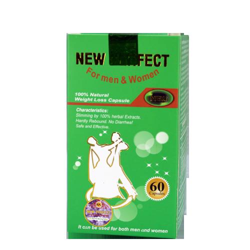TPCN - Viên giảm cân New Perfect - Hỗ trợ giảm cân an toàn.