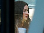 Katie Brannen, 26, (pictured today outside court) is said to have attacked the alleged victim in January